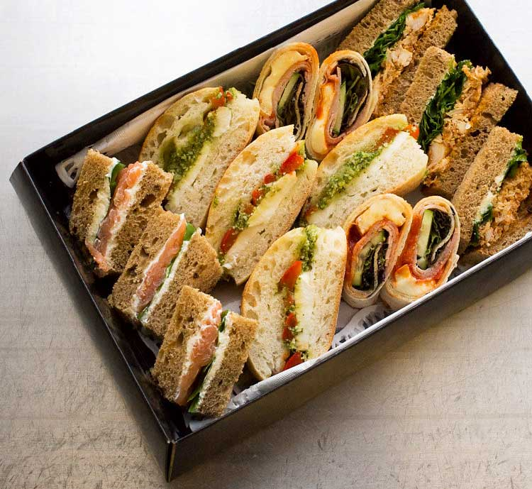 External Catering London - Sandwiches and Snacks